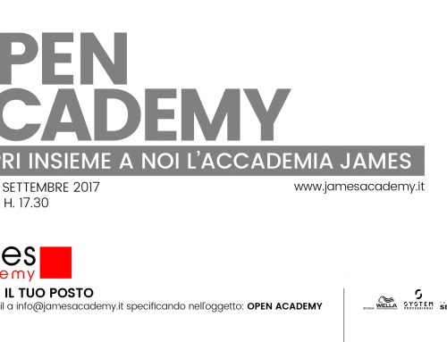 OPEN DAY JAMES ACADEMY – 18 Settembre 2017