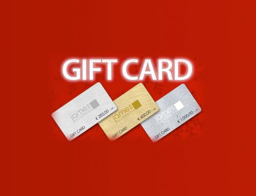 Regala una Gift Card firmata James Academy!